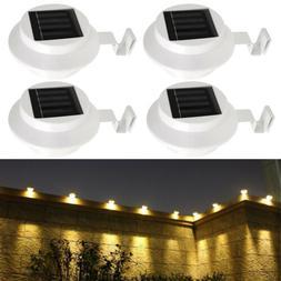 1/2/4/6/8x LED Solar Power Light Outdoor Garden Security Wal