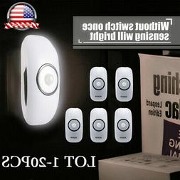1-20pcs ICOCO Durable Auto Shut-off Security Night Light LED