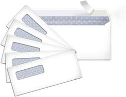AmazonBasics #10 Security-Tinted Envelopes with Peel and Sea