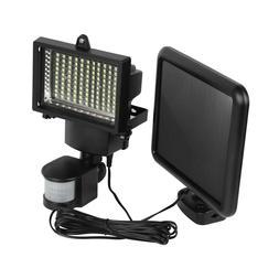 100 LEDs Solar Powered Sensor Light Security Flood Motion Ou