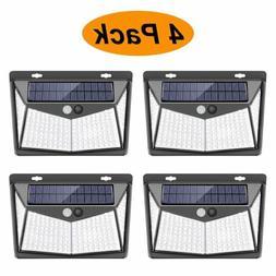 208 LED Solar Power Light PIR Motion Sensor Security Outdoor