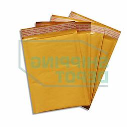 1000 #0 6x10 Kraft Bubble Mailers Self Seal Padded Envelopes