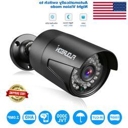 FLOUREON 1080P 2.0MP 3000TVL NTSC Waterproof Outdoor CCTV DV