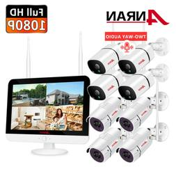 1080P Audio Wireless Security Camera System Home Outdoor Wif