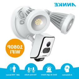 ANNKE 1080P Floodlight Security Camera Motion-Activated 2-Wa