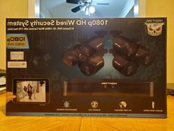 Night Owl 1080p HD 6 Camera Wired Security System/Brand New&