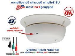1080p Hidden Spy Nanny Security Camera HD Covert Smoke Detec