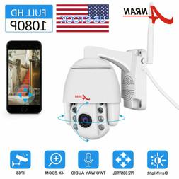 ANRAN 1080P Phone Wireless Security IP Camera System 2 Way A