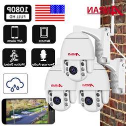 ANRAN 1080P WIFI Home Security Camera System 2Way Audio Talk