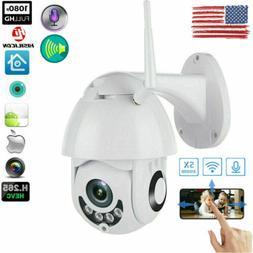 1080P WIFI IP Camera WHITE Wireless Outdoor CCTV HD Home Sec