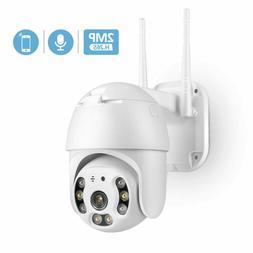 TMEZON 1080P HD IP CCTV Camera Waterproof Outdoor WiFi PTZ S