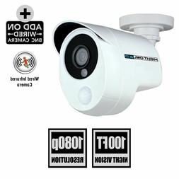 Night Owl 1080p Wired HD Security Camera w/Heat Motion Detec