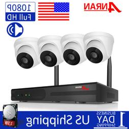 1080P Wireless Home Security Camera System Audio Recording 8