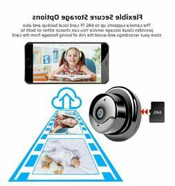SDETER 1080P Wireless Mini WiFi Camera Home Security Camera