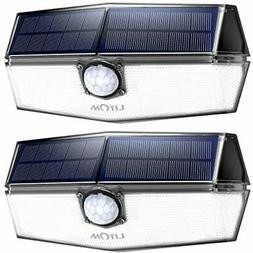 120 LED Solar Motion Lights Outdoor, 3 Optional Modes Wirele