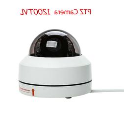 1200TVL HD SONY CMOS 4x Zoom PTZ Dome Home CCTV Security Cam