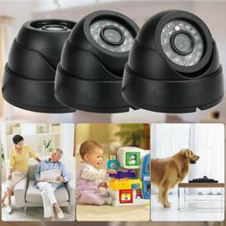 1200TVL Outdoor IR Home CCTV Security Dome Camera DVR Night