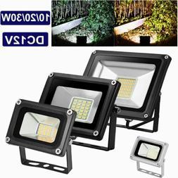 12V LED Flood Light Outdoor Lamp Security Wall Flood Lights
