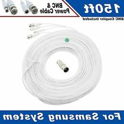150 Ft Security Camera Cable for Samsung SDS-P5102, & Other