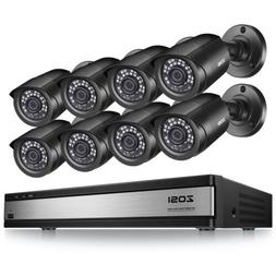 ZOSI 16 CH Channel H.265+ DVR  1080p Surveillance Security C