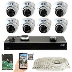 GW Security 16 Channel NVR  5MP 1920P PoE IP Home Security C
