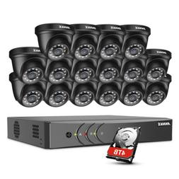 ANNKE 16CH 1080P Lite H.264+ DVR 2MP Outdoor Security Camera