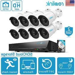 Reolink 16CH 4MP Security Cameras System PoE NVR 3TB HDD Ant