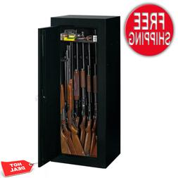 18-Gun Riffle Storage Fully Convertible Steel Security Cabin