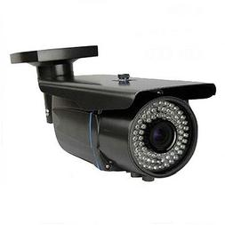 1800TVL Sony CMOS 2.8-12mm Varifocal Zoom 72LEDs Outdoor Sec