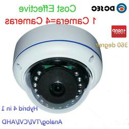 2.0MP 1080P 360 degree Analog Dome CCTV Security Camera Wide
