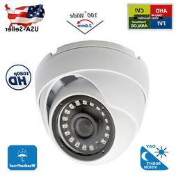 2,8mm Wide Angle Outdoor 1080p HD Day Night Vision CCTV Secu
