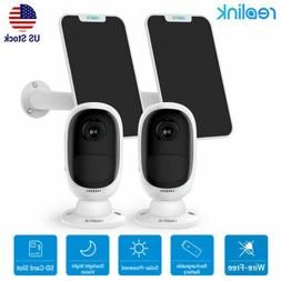 2 Sets Reolink Wireless Security Outdoor Camera Rechargeable