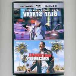 2 Martin Lawrence PG-13 comedy movies: Blue Streak, National