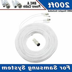 200 Ft Security Camera Cable for Samsung SDE-3004N & Other S