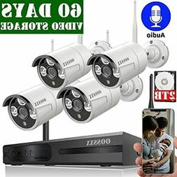 2020 Update 8-Channel HD 1080P Wireless Security Camera Syst