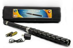"22.5"" Cheetah Stun Gun Tactical High Powered Flash Light Rec"