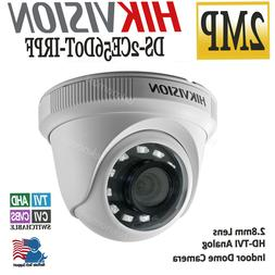 HIKVISION 2MP 1080p Indoor Dome Camera 2.8mm HD Analog TVI/