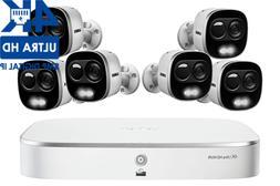 LOREX 2TB DIGITAL POE IP NVR Security 6 HD 4K Camera System