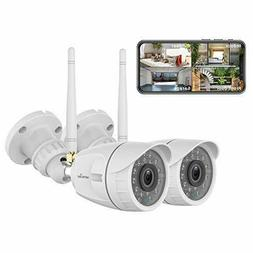 2x Wansview 1080P Outdoor Security Camera Wireless WiFi Home