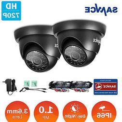 SANNCE 2X720P 1500TVL TVI Security Camera CCTV Surveillance