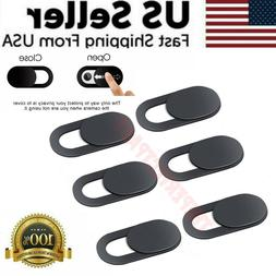 3/6 PCS WebCam Cover Slide Camera Privacy Security Protect S