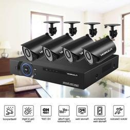 720P 4CH DVR Outdoor Security Camera System Video Recorder I