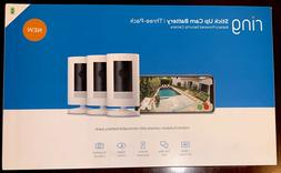 3 Pack Ring Stick Up Cam Indoor/Outdoor Home Security Camera