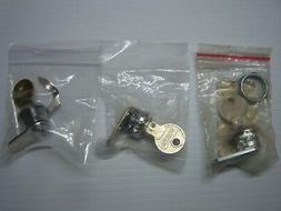 3 ) Honeywell Ademco Vista Lock & Key for Security Alarm Pan