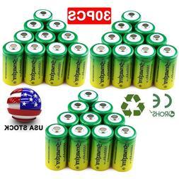 30* Rechargeable Batteries CR123A 3.7V Li-Ion for Netgear Ar