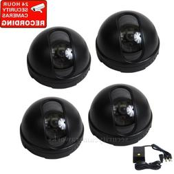 4 Dome Security Camera Indoor SONY CCD Wide Angle for Home D