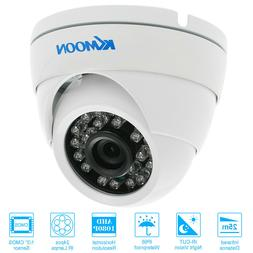 4 pack KKmoon 1080P 2MP AHD Dome CCTV Camera Night Vision Ou