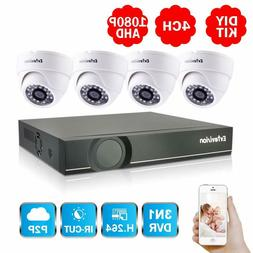 4CH Full HD 1080P Home Video Security System-4 Channel 2MP A