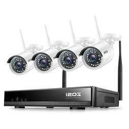 ZOSI 8CH H.265 Wireless 1080P NVR Outdoor Home WIFI Camera C