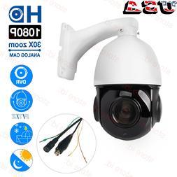 4in1 30X Zoom AHD/TVI /CVI/CVBS 2MP Outdoor CCTV PTZ Speed D